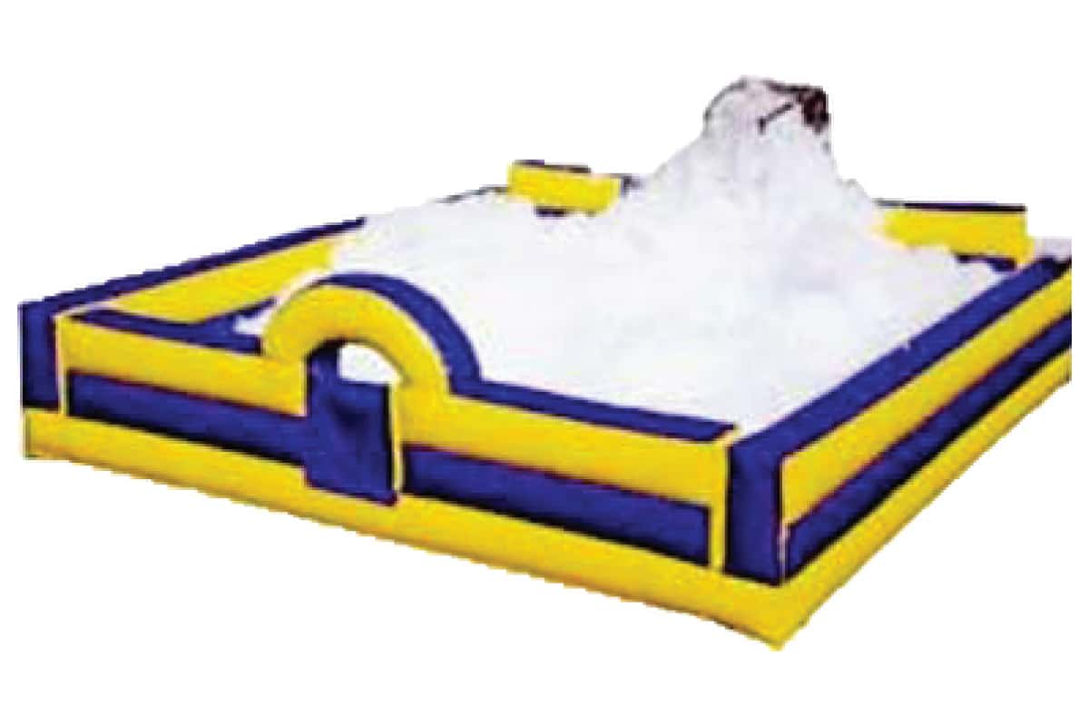 Foam Party Rental Edmonton with inflatable Pit