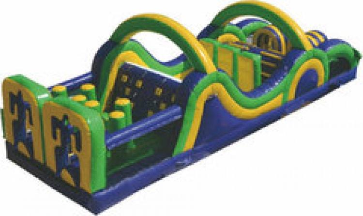 40' Fun Run Obstacle Course (A)