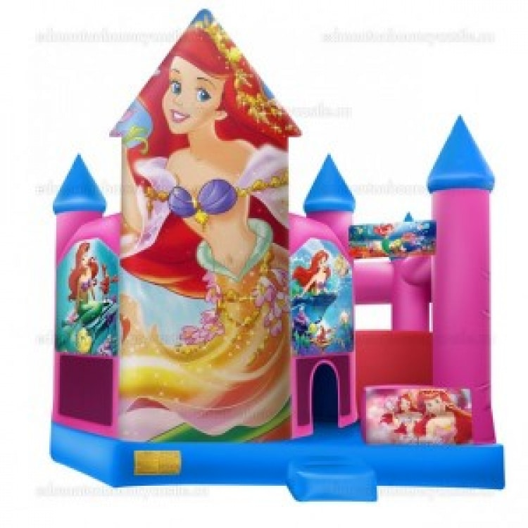 The Little Mermaid Castle with Slide