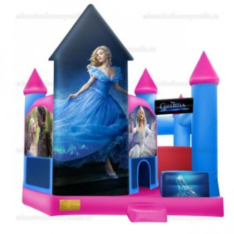 Tall Cinderella Castle with Slide