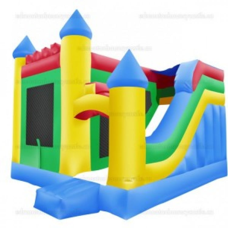 Colourful Castle & Slide