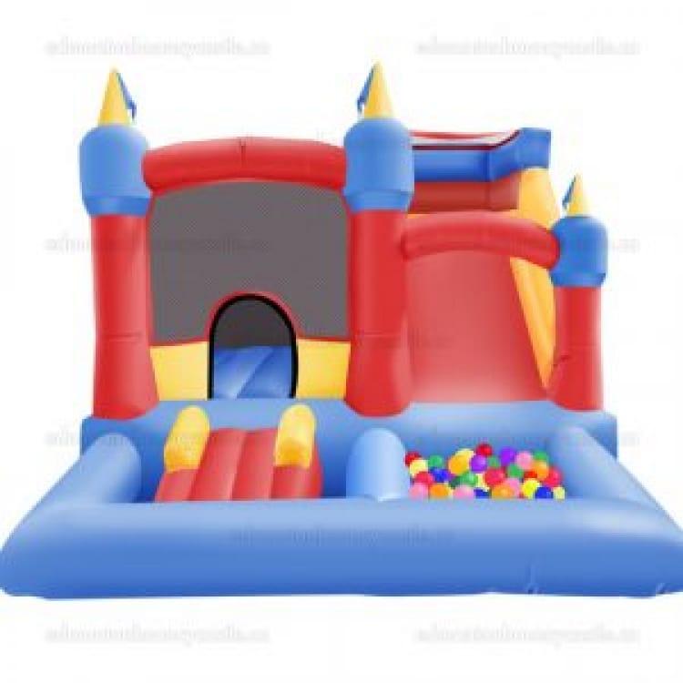 Toddler Castle, Slide & Ballpit