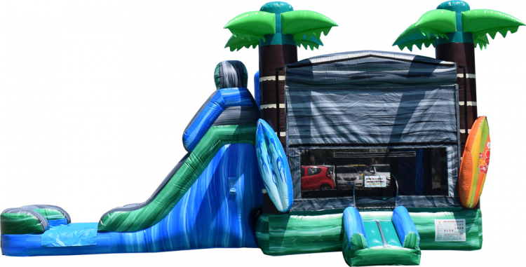 Tropical Combo with Slide (WET SLIDE)